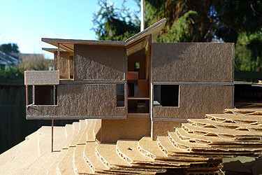 Architectural Model Elevation